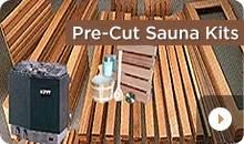 DIY Pre-Cut Sauna Kits