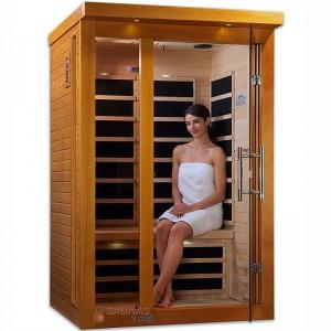 2 Person (A) Carbon Fiber Infrared Sauna