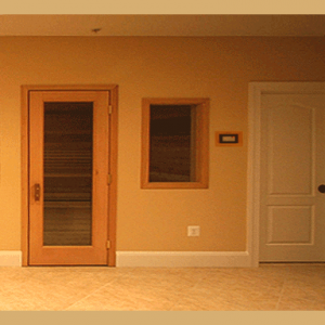 6' x 7' Pre-Cut Sauna Room Kit