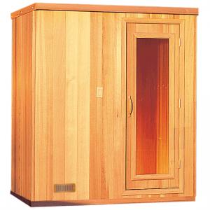 4' x 7' x 7' Pre-Built Sauna