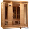 4 Person (MH) Ultra-Low-EMF Carbon Fiber Infrared Sauna