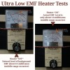 Best Infrared Heaters with Ultra-Low-EMF