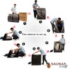 Portable Carbon Fiber Infrared Sauna - Assembly