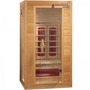1 Person Ceramic Tube Infrared Sauna