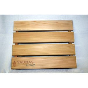Sauna Headrest of Grade A Western Red Cedar