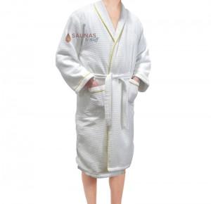 Luxurious Lined Unisex Sauna / Spa Robe