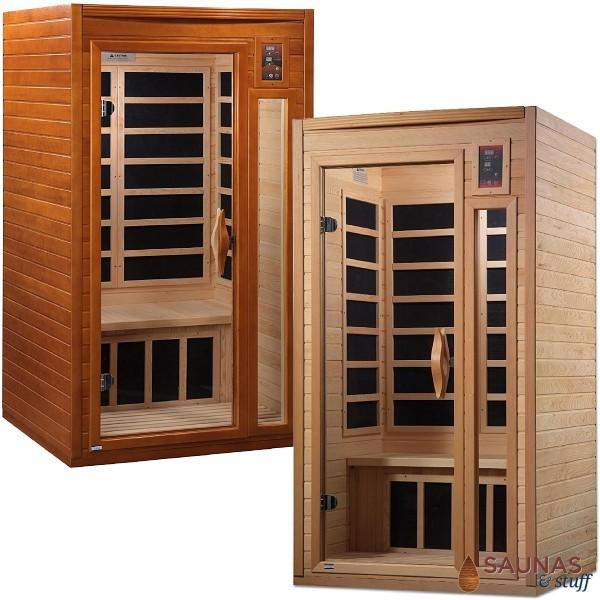 1 Person (B) Infrared Sauna - Carbon Fiber Panels
