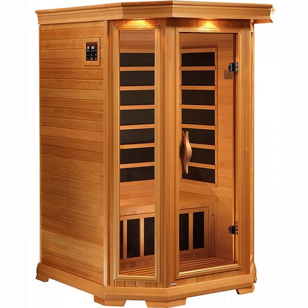 2 Person Solstice Carbon Fiber Heater Infrared Sauna