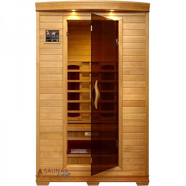 2 Person Ceramic Tube Infrared Sauna