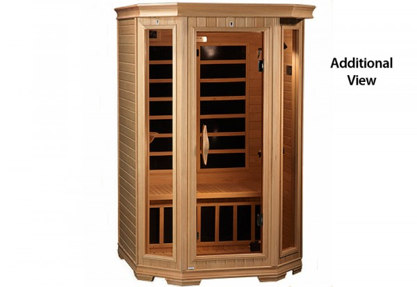 2 Person Solstice Carbon Fiber Heater Infrared Sauna