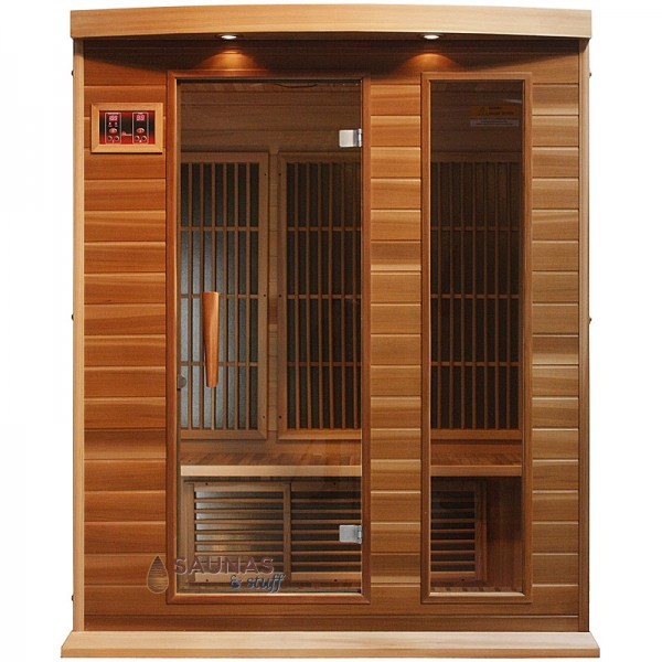 3 Person Red Cedar Infrared Sauna
