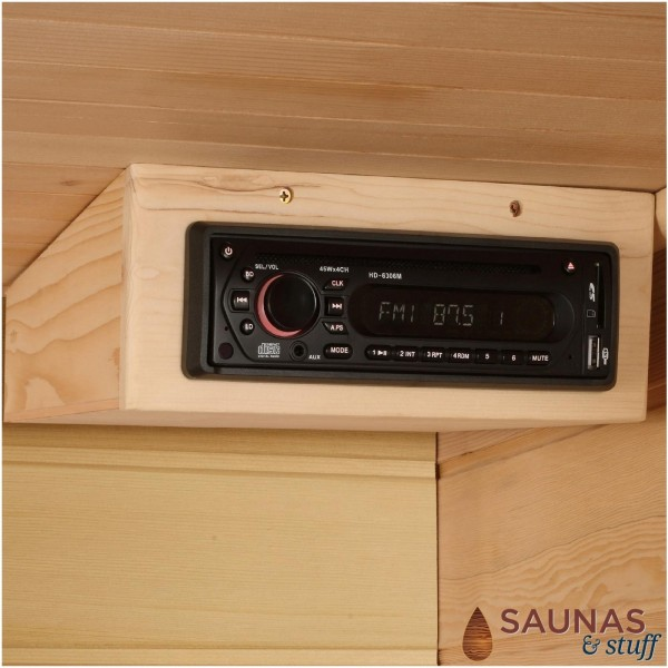 3 Person (MH) Ultra-Low-EMF Carbon Fiber Infrared Sauna Stereo