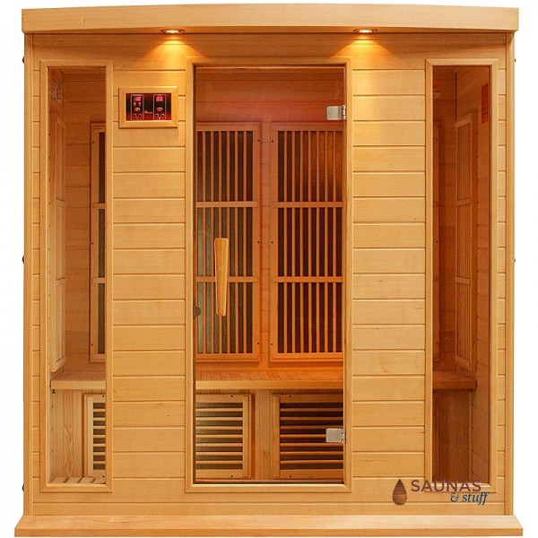 4 Person Carbon Fiber Infrared Sauna