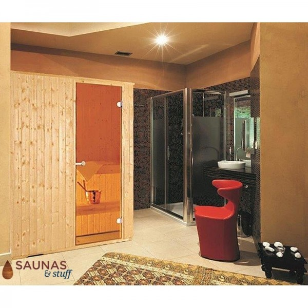Harvia 4 x 6 Essential Sauna Package