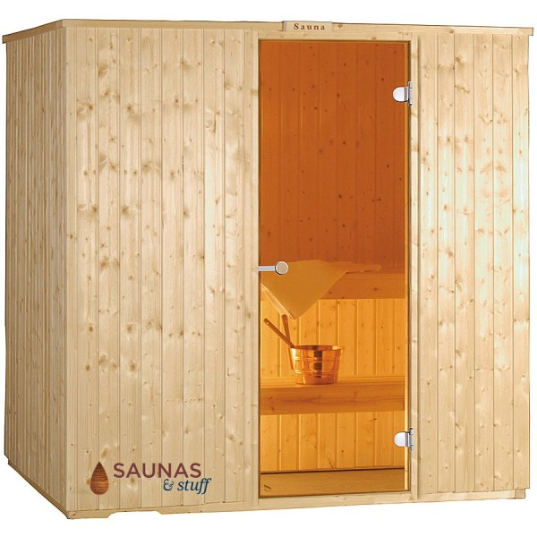 Harvia 5 x 7 Essential Sauna Package