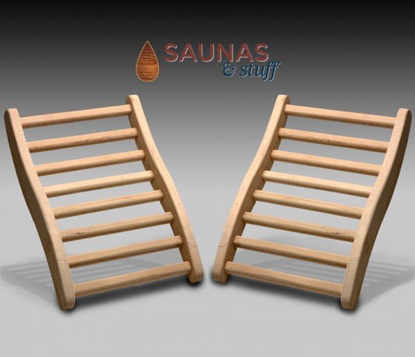 Hemlock Infrared Sauna Backrests