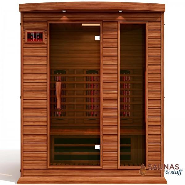 3 Person Full Spectrum Infrared Cedar Sauna