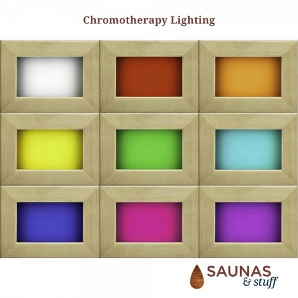 Color Therapy Infrared Sauna Lighting