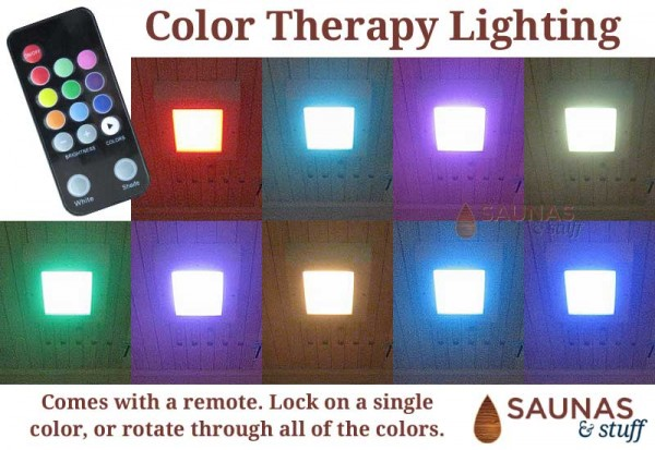 Color Therapy Interior Ceiling Light with Remote