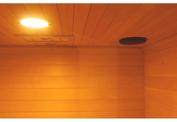 MP3 Input and Powered Speakers - Interior Light and Vent