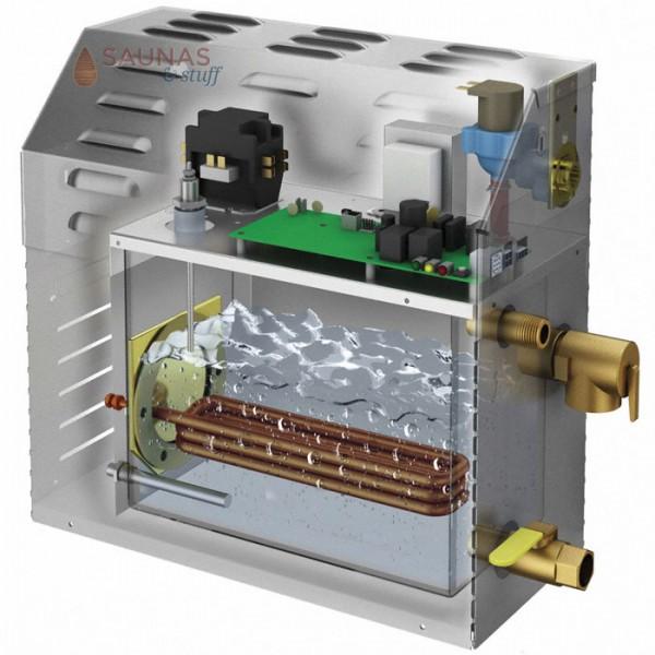 MS150E Residential Steam Generator Cutaway