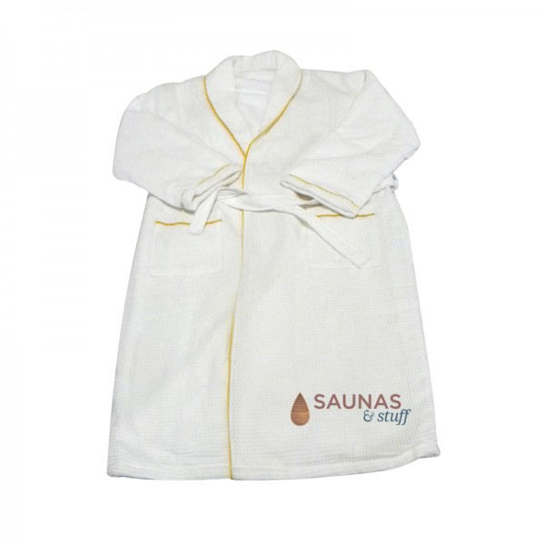 Luxurious Lined Unisex Sauna / Spa Robe
