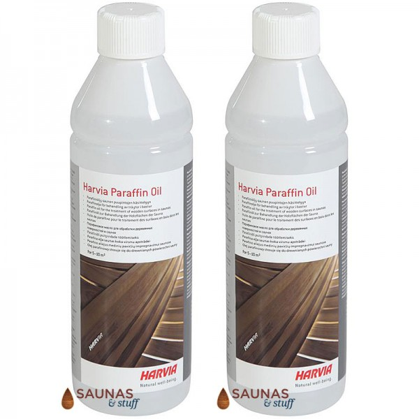 Sauna Bench Oil - 1 Litre (2-500 mL bottles)