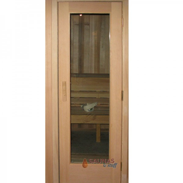 "2' x 6'8"" Standard Sauna Room Door - Fir Wood"