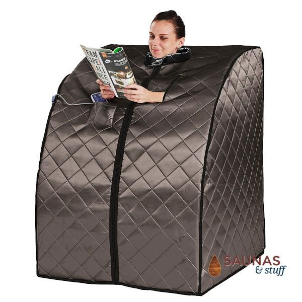 Portable Carbon Fiber Infrared Sauna - 1 Person