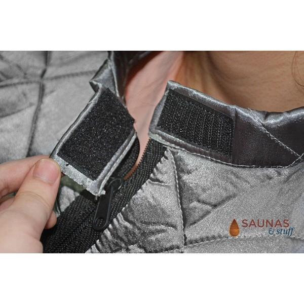 Portable Carbon Fiber Infrared Sauna - Closure