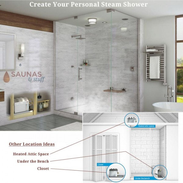 Your Home Steam Bath, Steam Shower