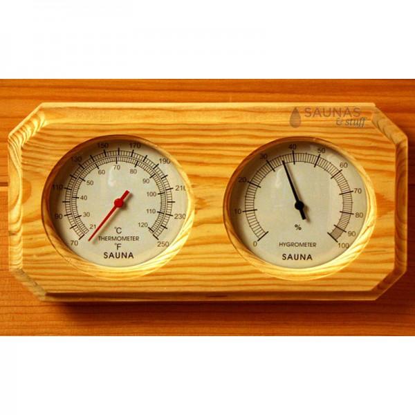Sauna Thermometer Hygrometer Combo