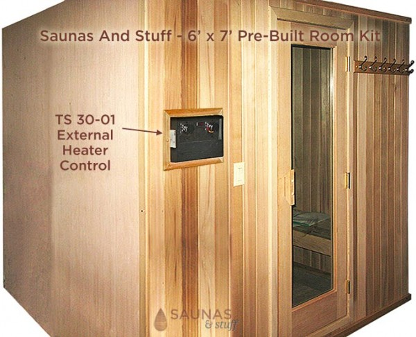Tylo TS 30-01 Analog Control on Pre-Built Sauna