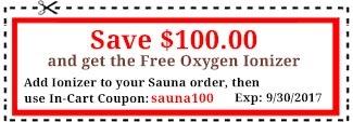 Infrared Sauna Coupon