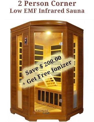 2 Person Corner Infrared Sauna Coupon