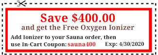 Infrared Sauna Coupon