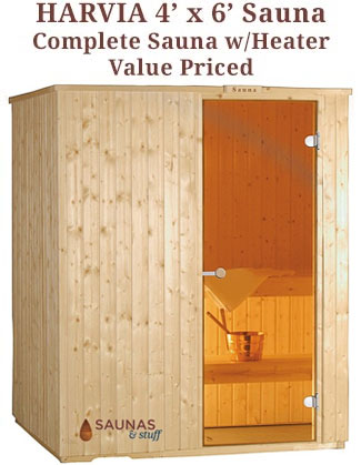 Harvia 4' x 6' Sauna Kit