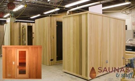 pre-built saunas kits