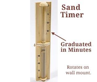 Sauna Sand Timer